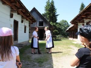 Animačný program v skanzene v Pribyline_14