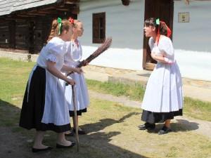 Animačný program v skanzene v Pribyline_15